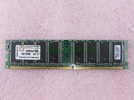 Kingston KVR333/1GR 1GB PC2700U DDR 333 184Pin Non-ECC Unbuffered Desktop Memory - $19.76