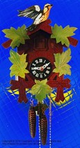 Blackburnian Warbler 1 Day Cuckoo clock - $167.31
