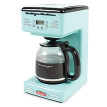 Nostalgic Retro Vintage Old Fashion CounterTop Programmable 12 Cup Coffe... - €79,64 EUR