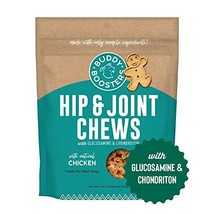 Buddy Biscuits Boosters, Soft & Chewy Dog Treats with Glucosamine & Chondroitin