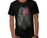Straight To My Heart Shirt Rib Cage Men T-shirt