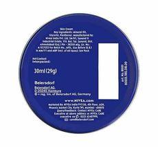 NIVEA CREME Skin Hand Moisturizing Cream in Metal Tin 1 Oz , 30 mL Moisturizer image 3