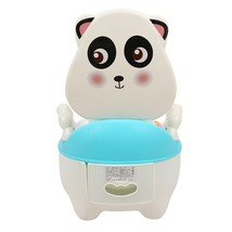 Children Cartoon Potty Toilet Urinal for Male and(BLUE) - $28.18