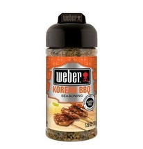 Weber Korean BBQ Grilling Seasoning 5.5 oz jar Best B4 2021 No MSG All natural - $5.69
