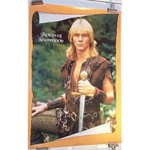 Robin of Sherwood British TV Jason Connery Poster, Rolled - $6.89