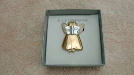 Liz Claiborne modern contemporary angel pin brooch fashion jewelry - $14.99