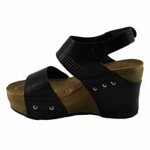 Pierre Dumas HESTER-23 Black Women's Platform Wedge Sandals - $44.95