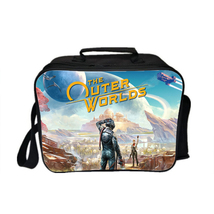 The Outer Worlds Kid Adult Lunch Box Lunch Bag Picnic Bag A - $19.99