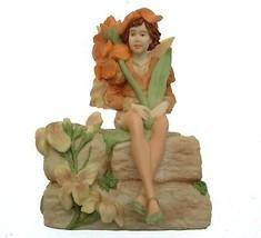 Danbury Mint Flower Fairies Wallflower Fairy Figurine Cicely Mary Barker... - $124.07