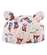 Summer Baby Hats/Caps Cartoon Pure Cotton Cloth Caps Bear