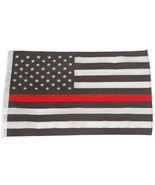 SMF Small 12 Inch X 20 Inch Replacement Flag For Whip Antenna Thin Red Line - $19.95