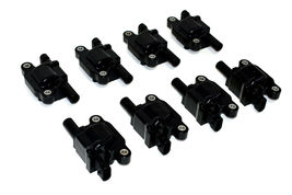 "Chevrolet GMC GM LS LSX LS1 LS2 LS3 LS6 8 Coils & 11"" 8mm Spark Plug Wires D510C image 3"