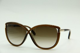 NEW TOM FORD TF 327 48F ABBEY BROWN SUNGLASSES AUTHENTIC TF327 63-9 W/CASE - $261.80