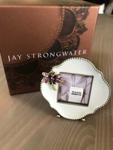 BRAND NEW Jay Strongwater Dragonfly Picture Frame - White with Swarovski... - £52.07 GBP