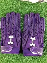 Team Issued Baltimore Ravens Under Armour Fierce 4xl Football Gloves - $17.99