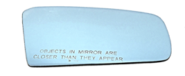 Right Pass Blue Mirror Glass Lens for 88-94  MZ 323, Protege, 88-92 626 ... - $38.56