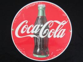 Porcelain Coca-Cola Contour Bottle Disc Sign Indoor Outdoor - NEW - $34.40