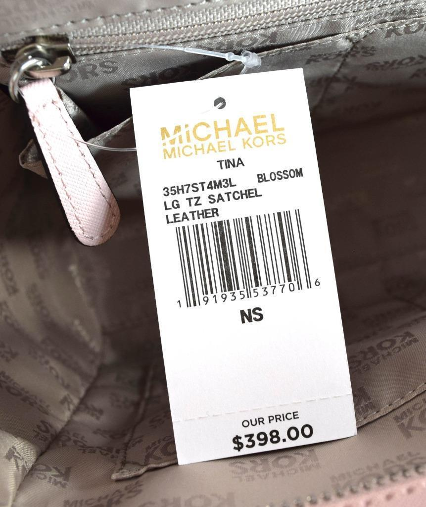 Authentic New Nwt Michael Kors $398 Leather and 16 similar items