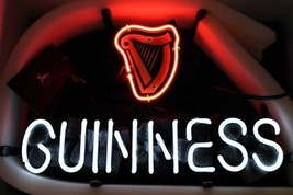 "New Guinness Irish Beer Lager Neon Sign 17""x14"" Ship From USA - $107.00"