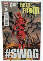 X-men Battle of the Atom #1 Deadpool #SWAG Variant Cover Marvel Comics Book - $3.82