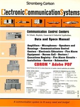 Stromberg-Carlson Data and Specs Manual * 1966 * PDF * CDROM - $8.99
