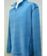 Pebble Beach Performance Men's 1/4 Zip Pullover Long Sleeve Jacket Blue ... - $25.53