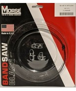 "MORSE Bandsaw Blade 56 1/8"" X 1/4"" X .014""  6 TPI 4WA37 NEW  - $19.59"