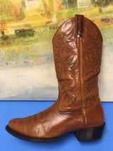 ARIAT Mens Leather Western Cowboy Boots Brown Patterned Style #34740 Siz... - $66.37