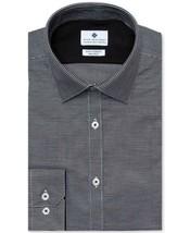 Ryan Seacrest Men Slim Fit Stretch Non Iron Dobby Dress Shirt Size 16 1/... - $18.30