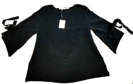 New Calvin Klein Women Sweater M7IS6015 Black Xs Msrp $89.50 - $42.50