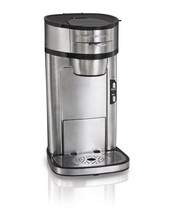 Hamilton Beach 49981A Single Serve Scoop Coffee Maker, New, Free Shipping - $24.74