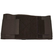 Garmetrode Conductive Back Brace Black Double Pull Overlapping Strap Hand Washed - $31.59+