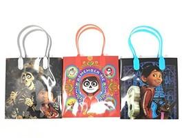 Disney/Pixar Coco Premium Quality Party Favor Reusable Goodie/Gift/Bags ... - $15.58
