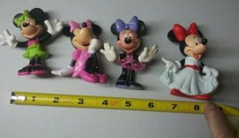 4 Minnie Mouse Disney Figurines/Collectibles Vintage. - $12.86