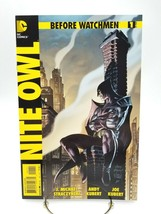 Before Watchmen Nite Owl #1 First Print DC Comic Book New HBO Series Kubert - $7.37