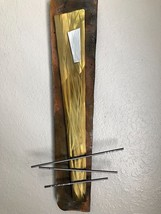Metal wall art Sculpture Home Decor by Holly Lentz - $129.00