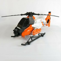 Tonka Rescue Helicopter Coast Guard Search #1025 2011 with figurine - $22.95