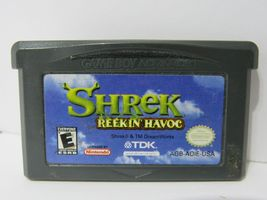 Lot of 3 Game Boy Advance Shrek Games 1-3 | Tested and Working | CARTRIDGE ONLY image 3