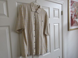 Tommy Bahama ,  XL , Men's Short Sleeve Shirt  ,  100% Linen - $29.95
