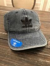 adidas Blue Dark Denim Unisex Hat Relaxed Adjustable Strapback Cap - $20.79