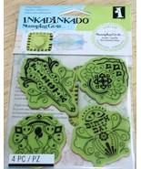 Inkadinkado BIRTHDAY FIESTA Cling Stamps  SEALED  NIP Stamping Gear - $4.99