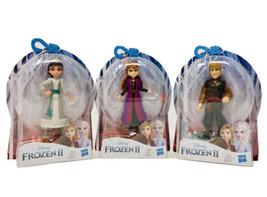Lot Of 3 Disney Frozen 2 Mini Figure Dolls Anna, Honeymaren, & Kristoff NEW - $18.50