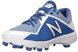 Balance Men's PL4040v4 Molded Baseball Shoe, Royal/White, 12.5 D US