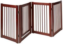 Primetime Petz 360 Configurable Pet Home Gate with Door Dog Cat Fence 30... - $98.27