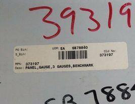 NEW 373197 PANEL, GAUGE, 3 GAUGES, BENCHMARK SB78840 image 4