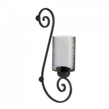 Smoked Glass Wall Sconce - $23.99