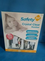 Safety 1st Crystal Clear Infant Baby Nurs Monitor Open Box Original!600 ... - $28.04