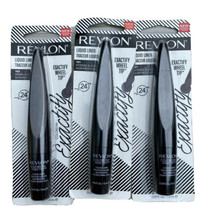 Revlon ColorStay Exactify Liquid Liner #102 101 Intense Sparkling Black ... - $15.29