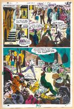 Secret Six Brave & The Bold 120 original DC comic color guide art:Frank ... - $59.99