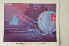 "Disney' Cinderella Lobby Card 1981 Full Color 14""x11"" FN/VF+ Condition - $16.00"